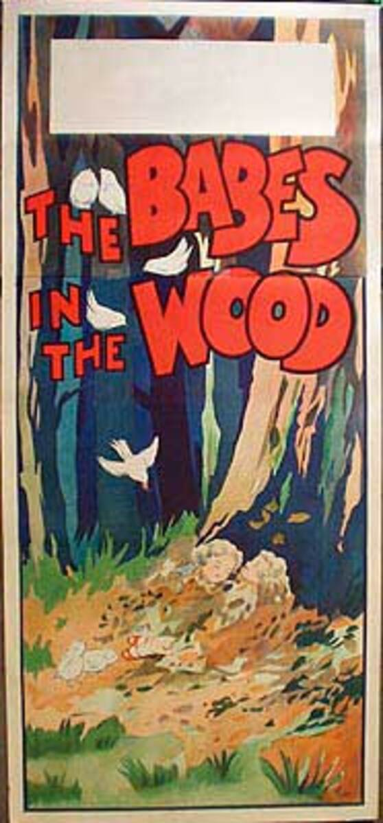 Babe in the Woods Original Vintage Theatre Poster