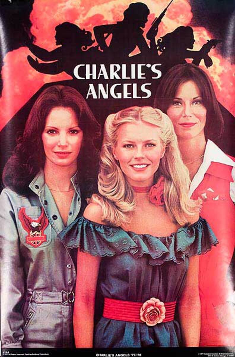 Charlies Angels Original TV show Poster