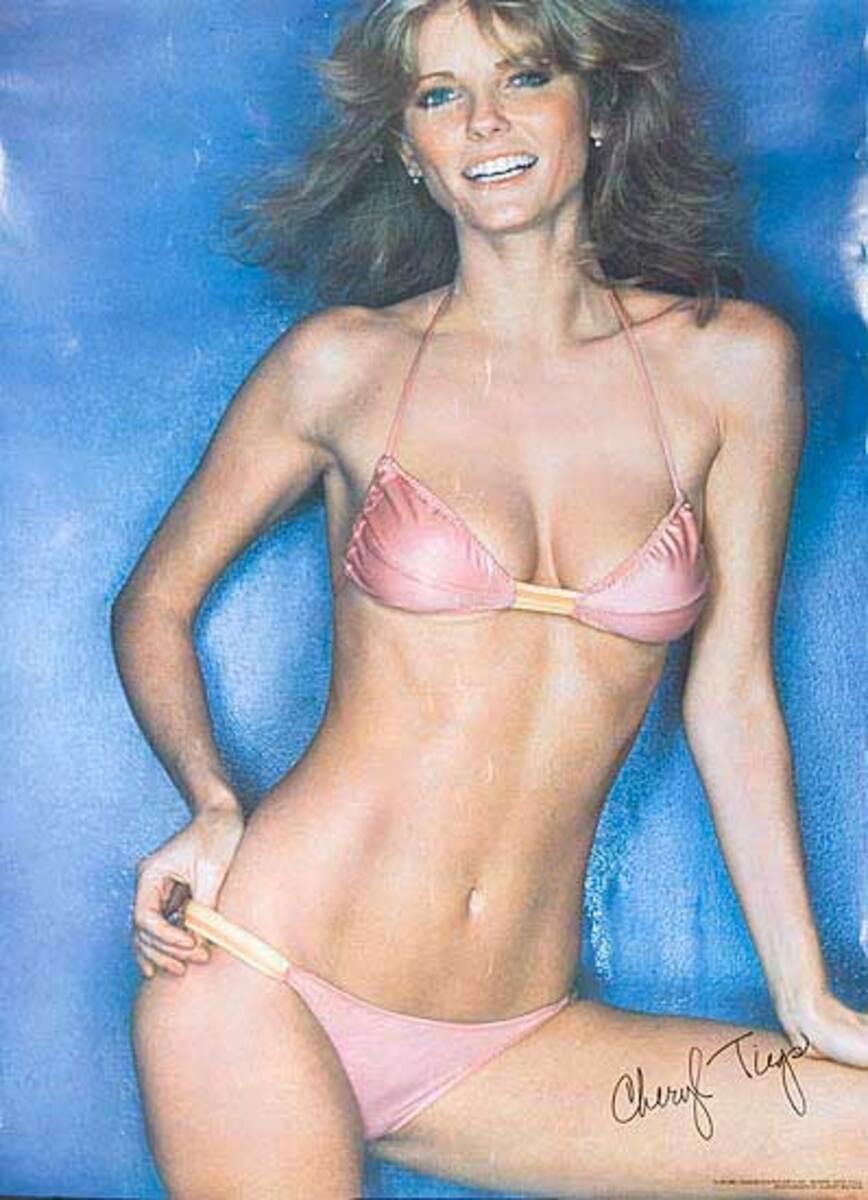 Cheryl Tiegs Original Pinup Poster