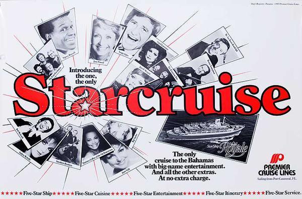 Premier Cruise Line Star Cruise Original Cruise Line Travel Poster