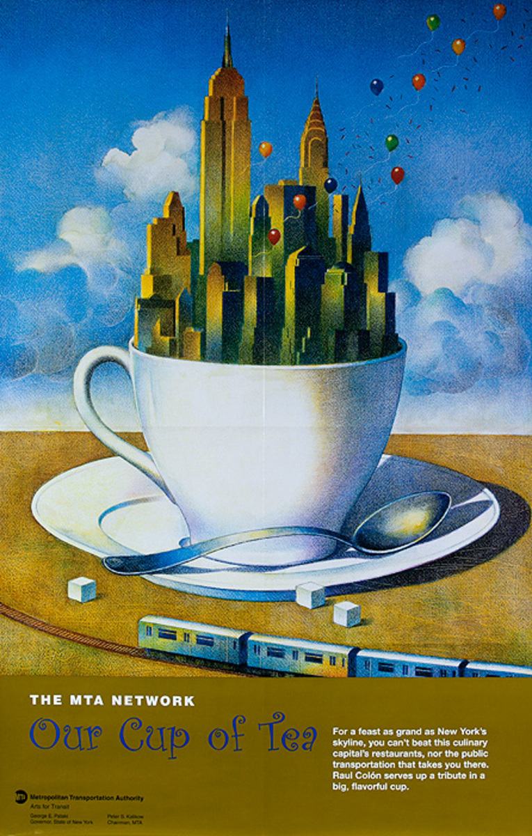 Arts for Transit Poster Cup of Tea