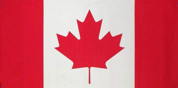 Canadian Flag Original Travel Poster