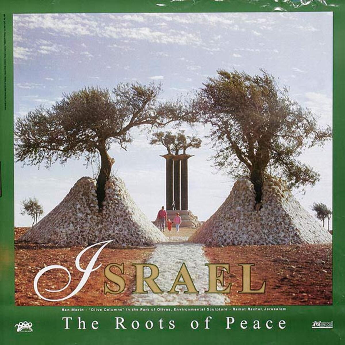 The Roots of Peace Original Israel Travel Poster