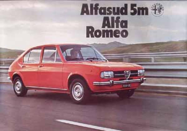 Alfa Romeo Alfa Sud Original VintageAdvertising  Poster
