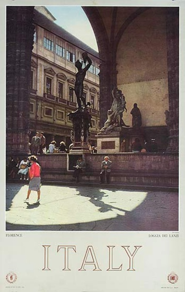 Florence Original Italian Travel Poster photo