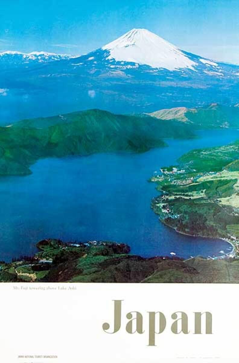 Japan Mt Fuji Photo Original Travel Poster