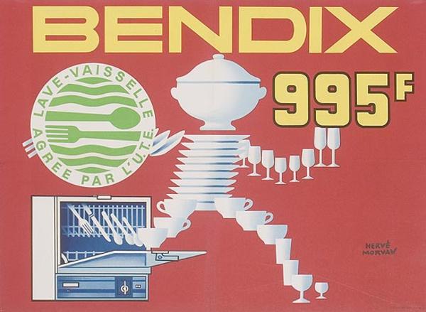 Bendix 995 Original Advertising Poster