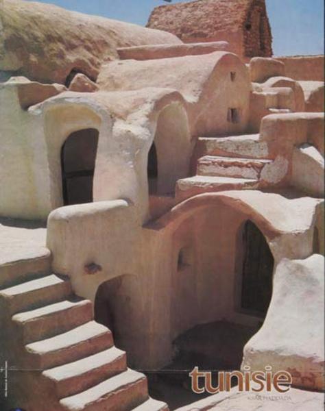Original Tunisia Travel Poster House