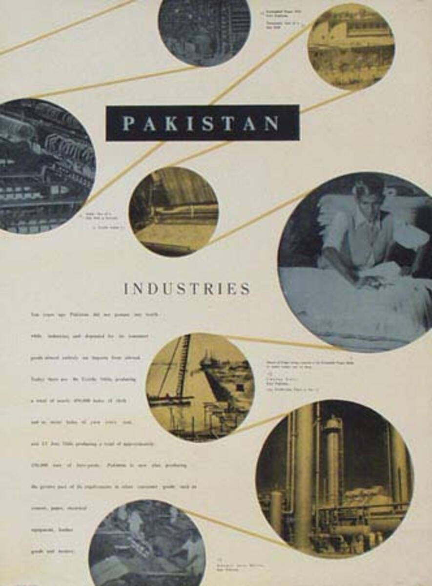 Pakistan Education Original Cultural Poster