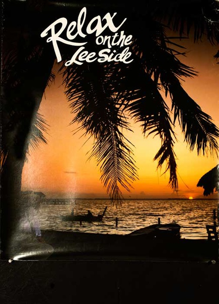 Relax on the Lee Side Original Travel Poster