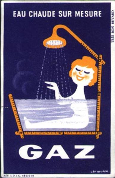 Gaz Blotter Original Advertising Blotter