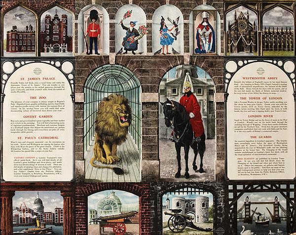 Underground Destinations Original Vintage British Travel Poster  XL