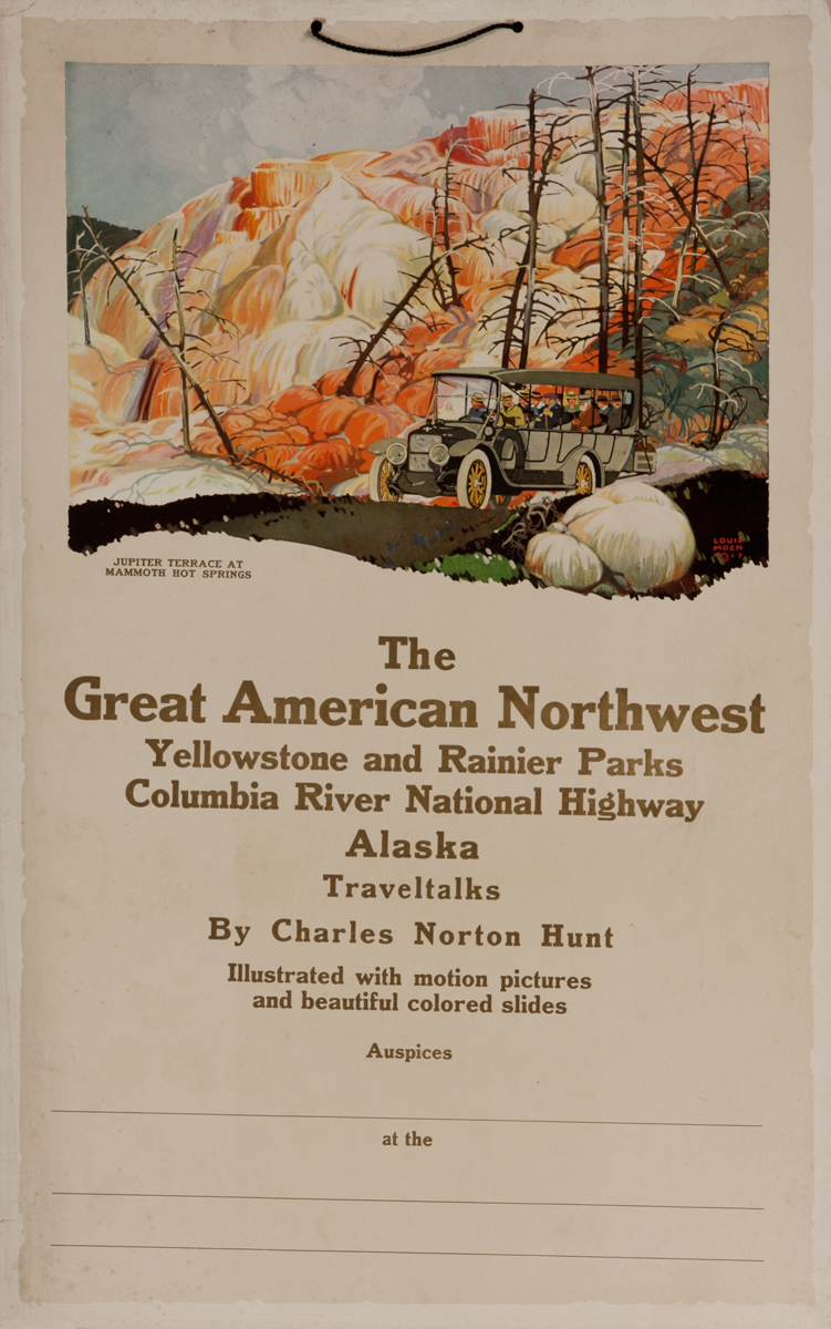 The Great American Northwest, Yellowstone and Rainier Parks