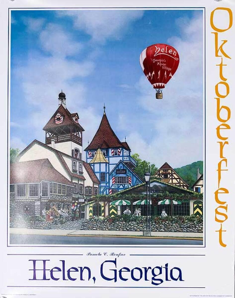 Helena Georgia Original Travel Poster