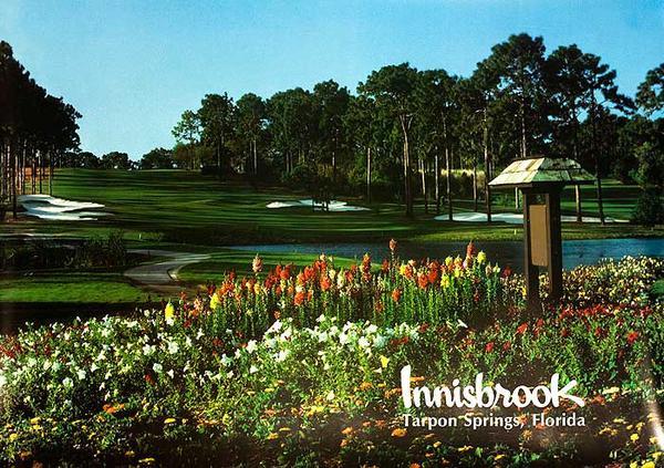 Innisbrook Tarpon Springs Florida Original Travel Poster