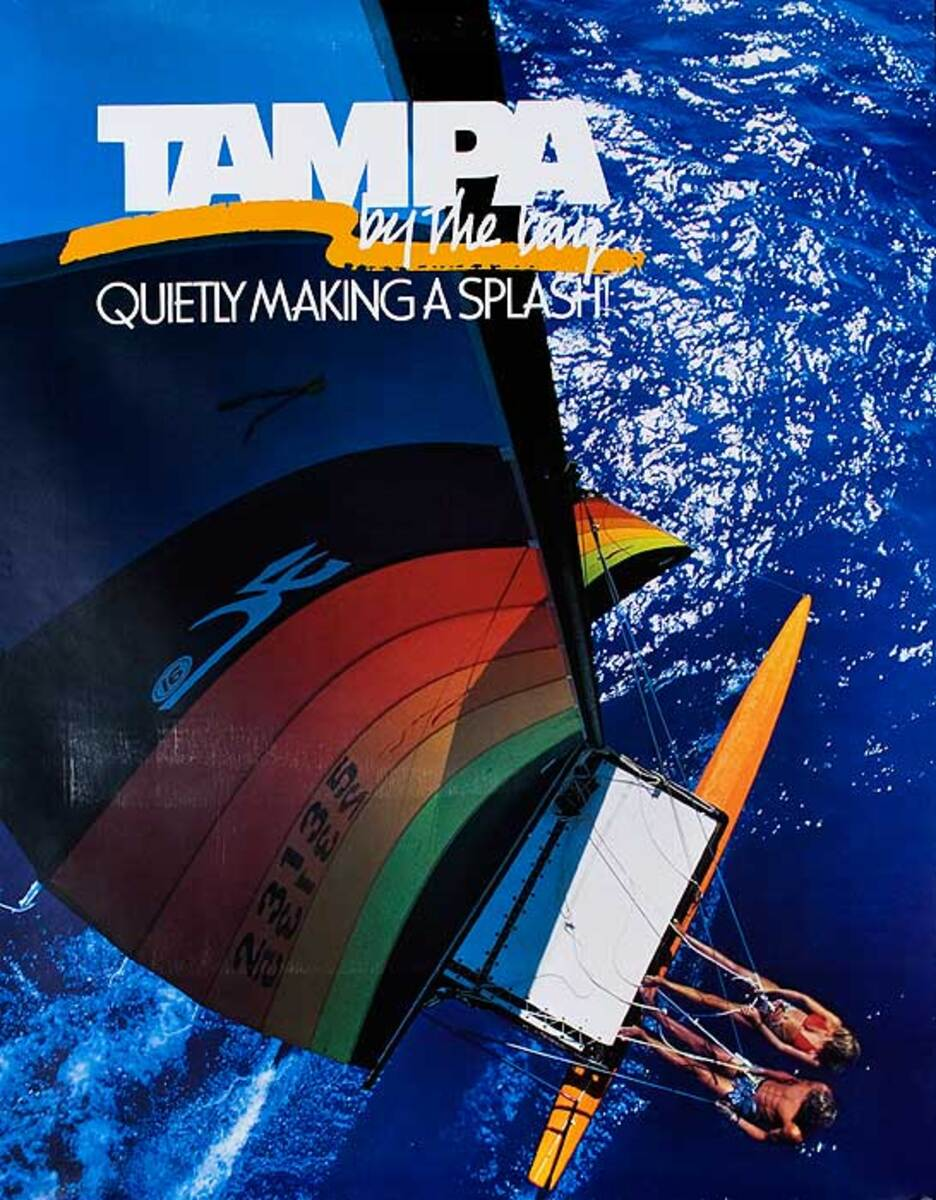 Tampa Florida Original Travel Poster Quietly Making A Splash