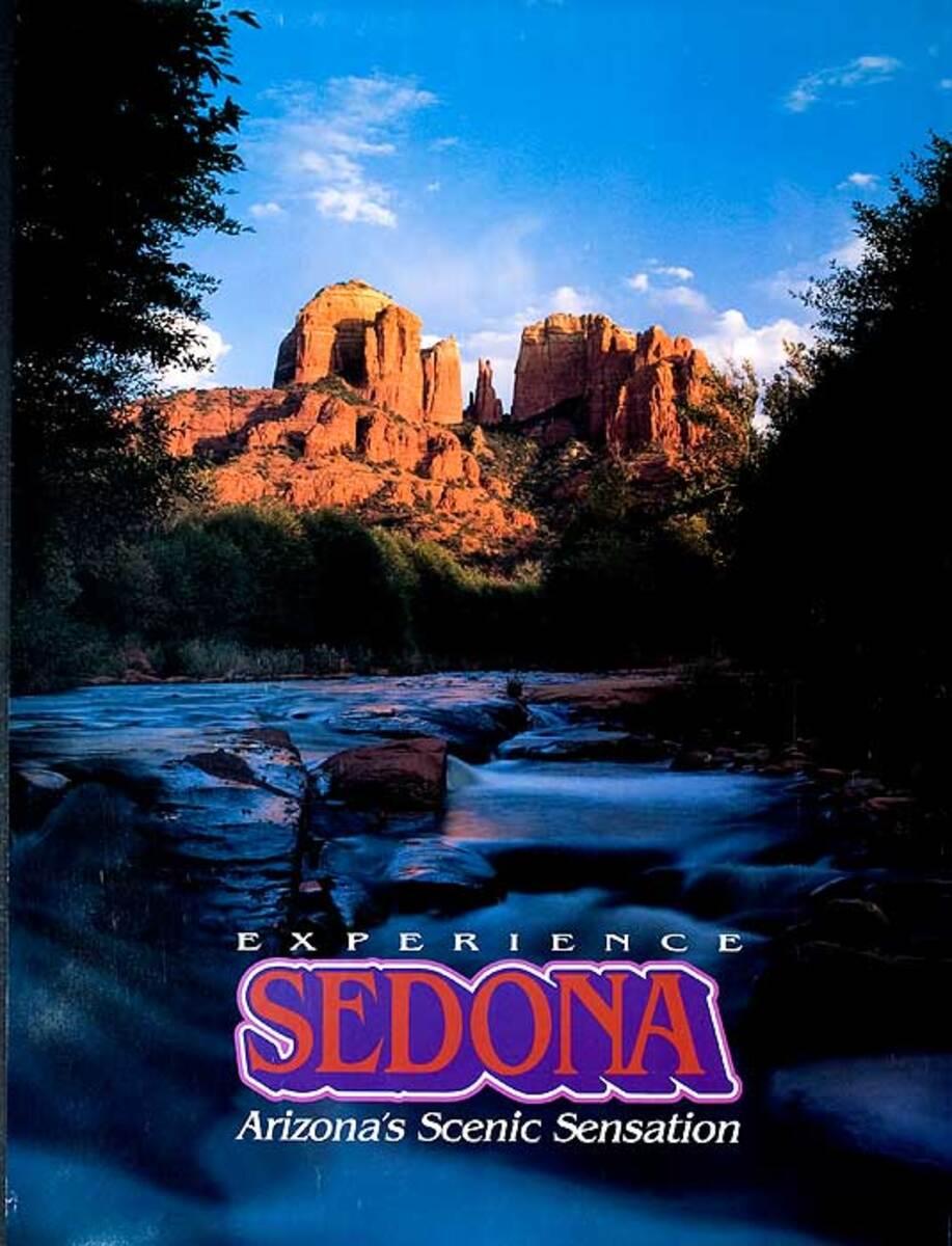 Experience Sedona Original American Arizona Travel Poster