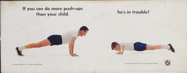 President's Council on Physical Fitness Original Advertising Poster