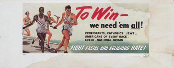 To Win We Need Em' All Original Vintage Civics Poster