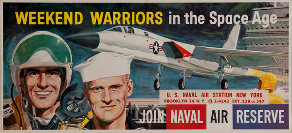 Weekend Warriers in the Space Age Join The Naval Reserve