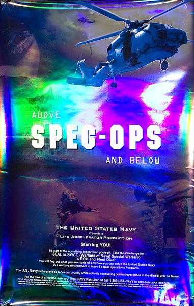 Spec Ops Original American Navy Recruiting Poster