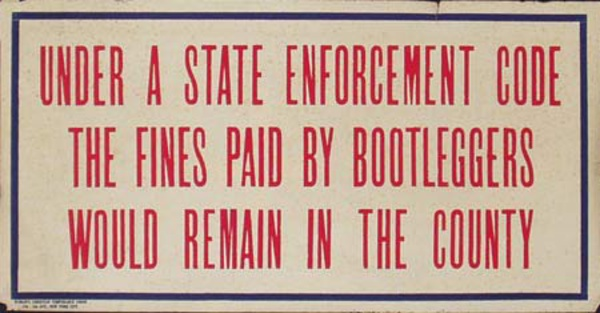 Original Vintage Anti Prohibition Repeal Poster