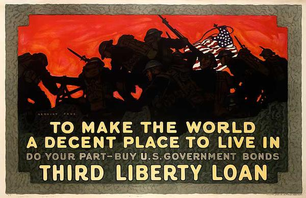 To Make the World a Better Place Original Vintage WWI Poster