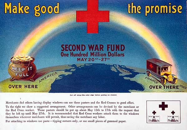 Make Good the Promise Original WWI War Fund Poster