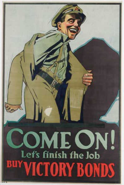 Come On!<br> Canadian World War One Poster