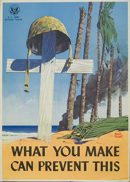 What You Make Can Prevent This Original WWII Poster