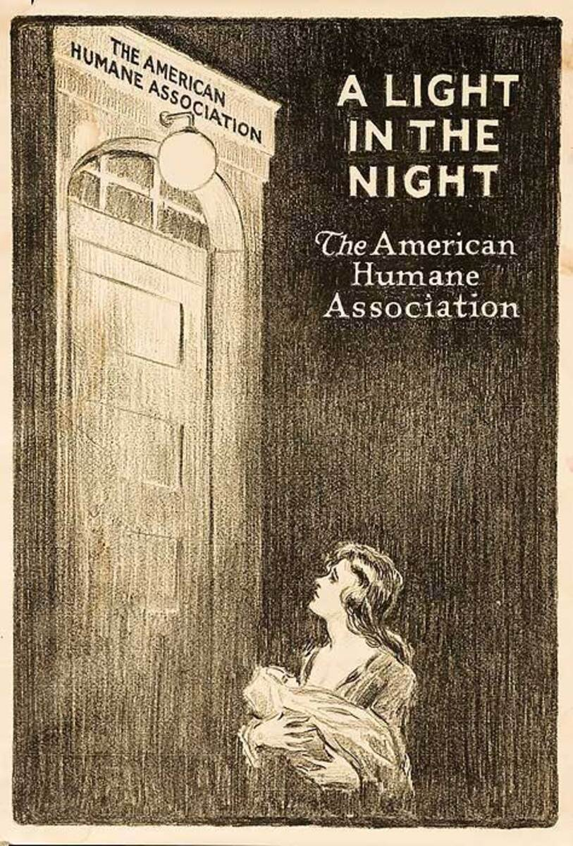 A Light in the Night Original American Humane Association Poster