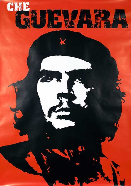 Che Guevara Protest Poster