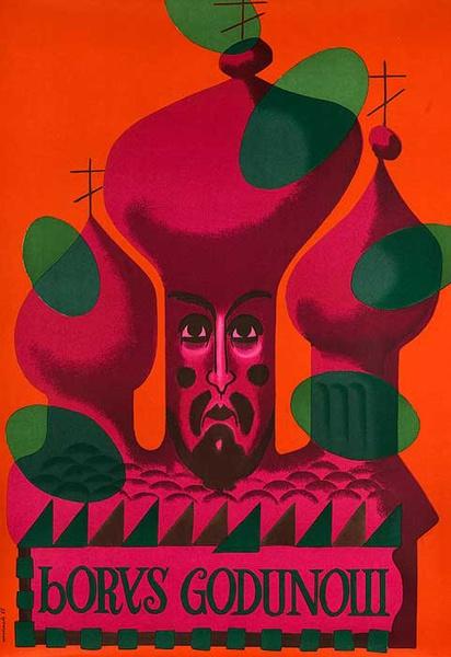 Boris Godunov Original Polish Opera Poster