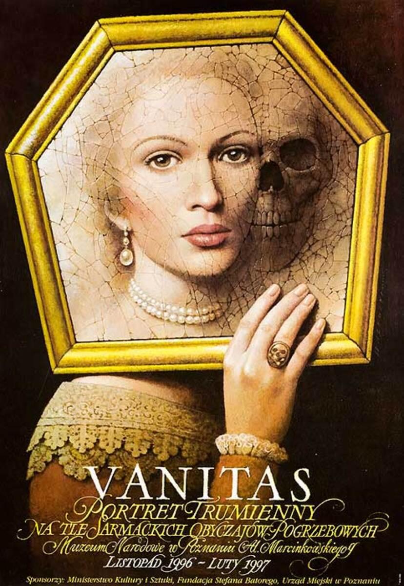 Vanitas Original Polish Theatre Poster
