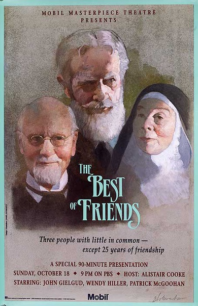 Mobil Masterpiece Theatre The Best Of Friends, Original TV poster