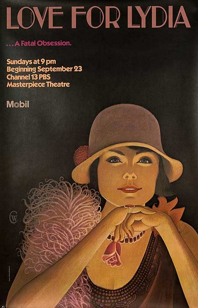 Mobil Masterpiece Theater Presents Love For Lydia Original TV Poster