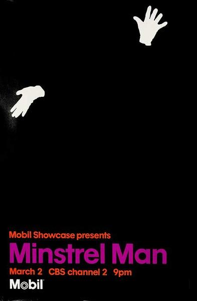 Minstrel Man Mobil Masterpiece Theatre TV Poster
