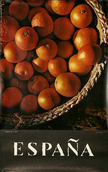 Espana Basket of Oranges