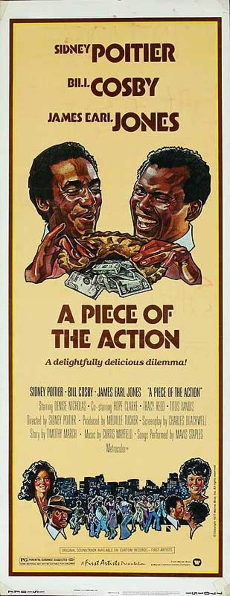 A Piece of Action Original American Insert