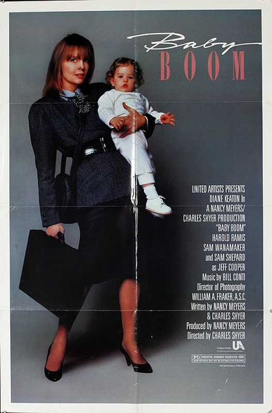 Baby Boom Original American One Sheet Movie Poster