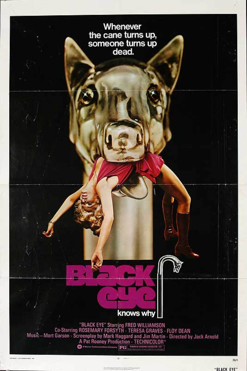 Black Eye Original American One Sheet Movie Poster
