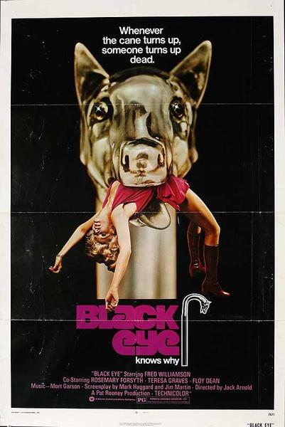 Black Eye Original American One Sheet Movie Poster