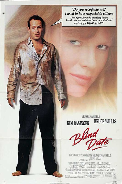 Blind Date Original American One Sheet Movie Poster