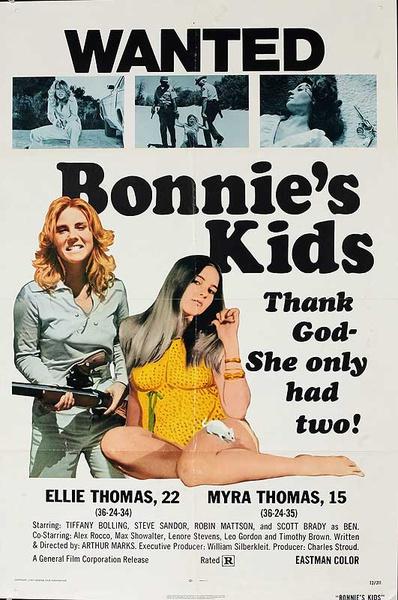 Bonnie's Kids Original American One Sheet Movie Poster
