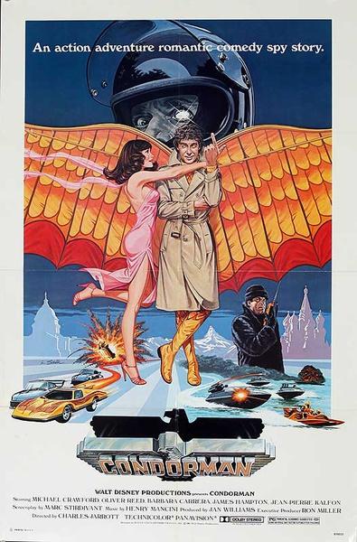 Condorman Original American One Sheet Movie Poster