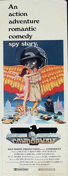 Condorman Original American Insert Movie Poster