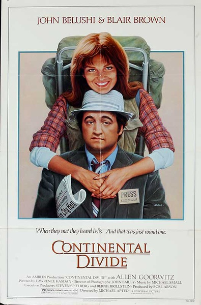 Continental Divide Original American One Sheet Movie Poster