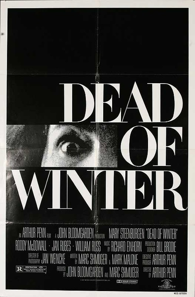 Dead of Winter Original American One Sheet Movie Poster