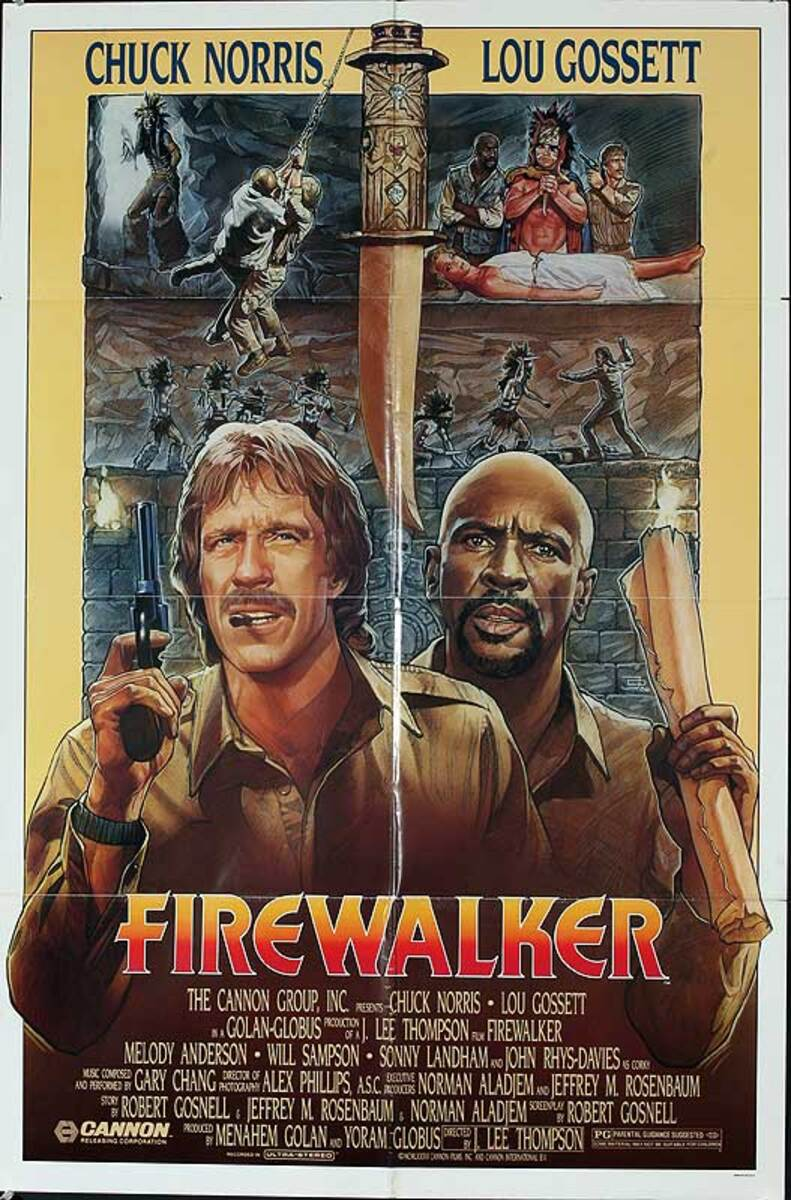 Fire Walker Original American One Sheet Movie Poster