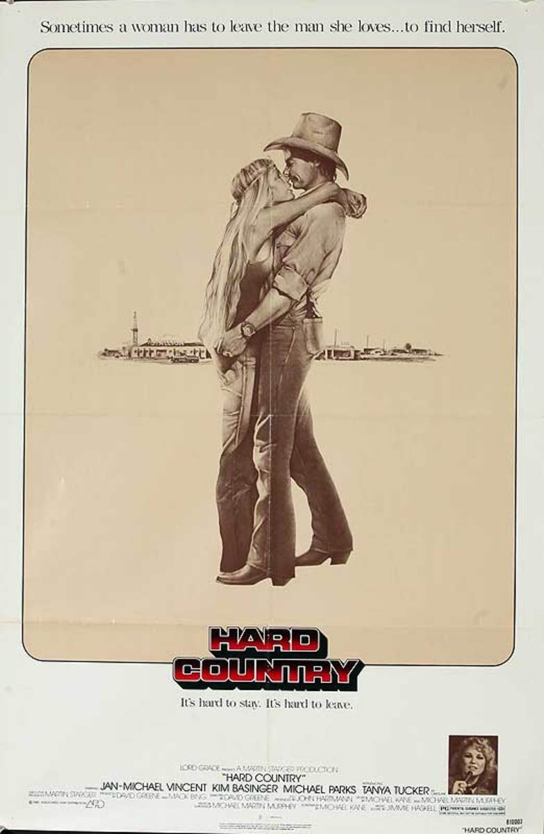 Hard Country Original American One Sheet Movie Poster